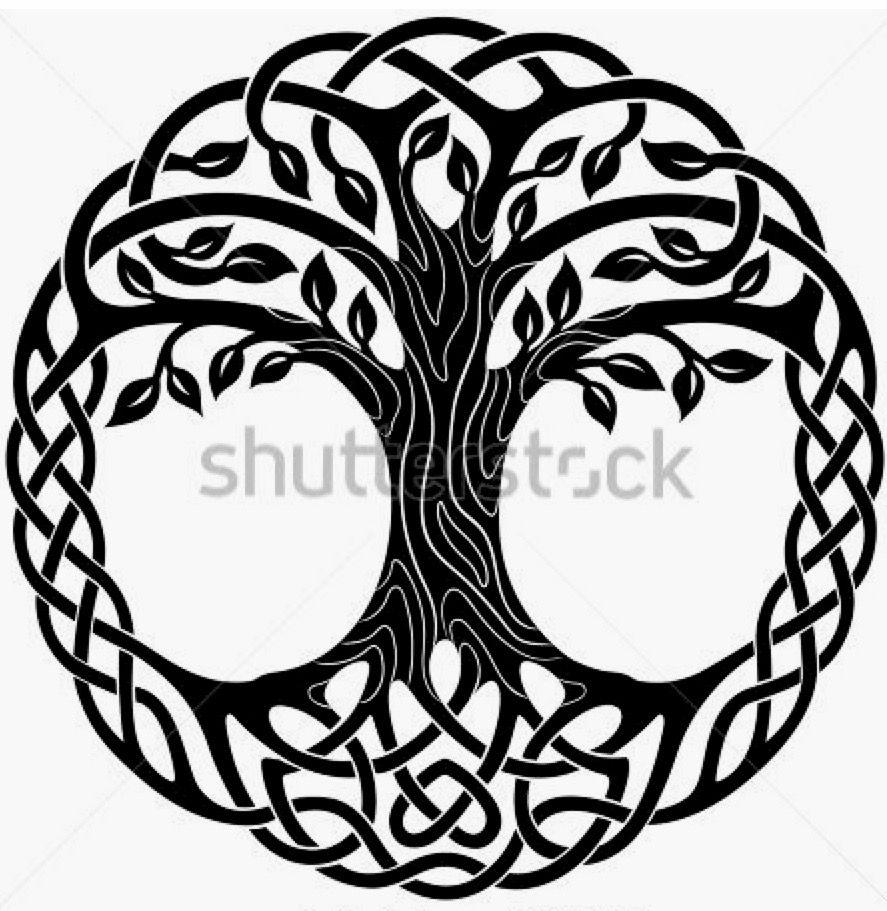 Pin De Maribel Camino Jimenez En Relog Corazon árbol Celta Celta