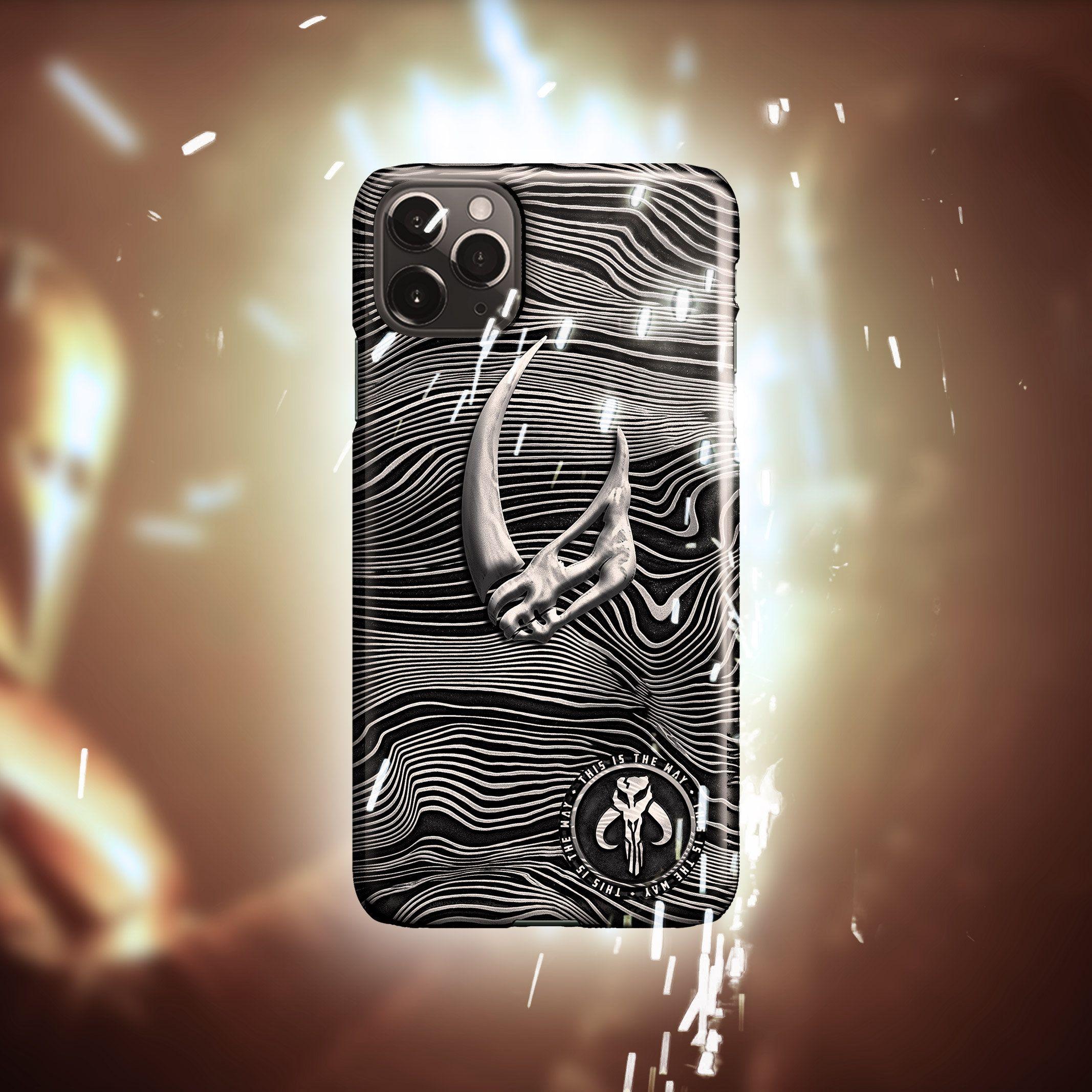 Mudhorn Signet Beskar iPhone 12 Pro Max Case Star Mythosaur | Etsy ...