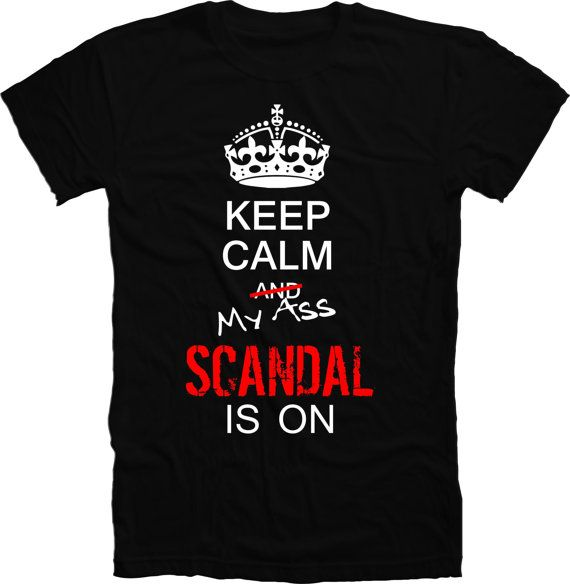 Keep calm and carry on,  Scandal,  T-shirt, Olivia Pope, gladiator in suits ( s,m,l,xl & xxl) on Etsy, $19.99