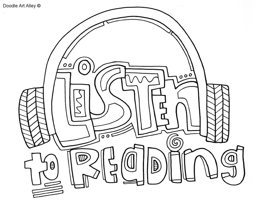 The Daily Five Coloring Pages Reading Coloring Classroom