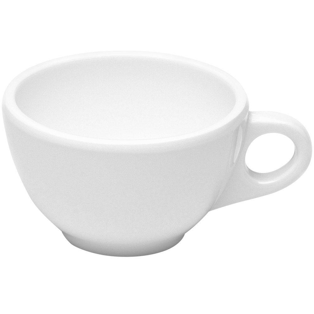 Elite Global Solutions DMC Merced 8 oz. White Coffee Cup 6