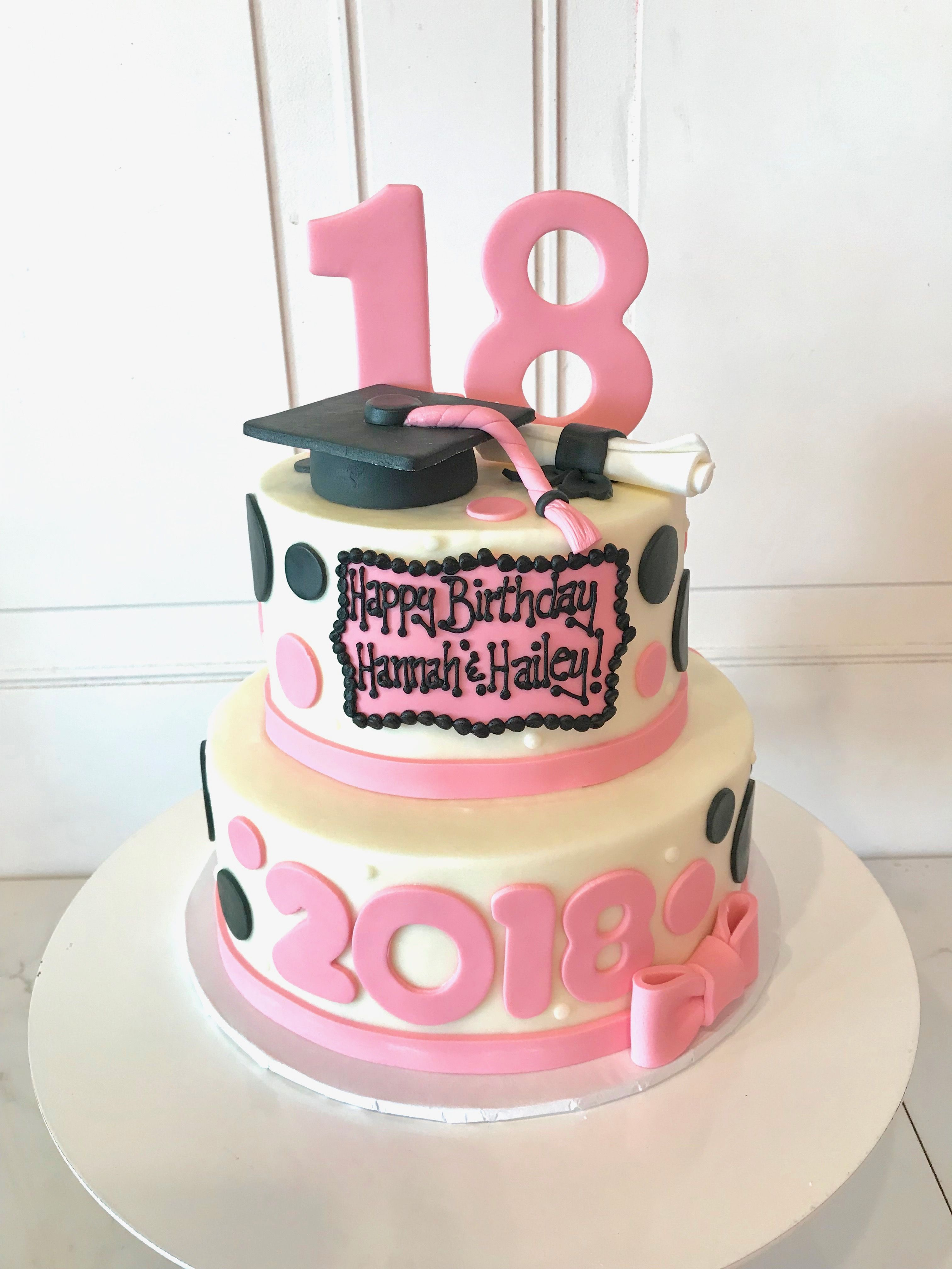 Enjoyable Graduation Cakes In Cincinnati Graduation Cakes Pink Graduation Personalised Birthday Cards Beptaeletsinfo
