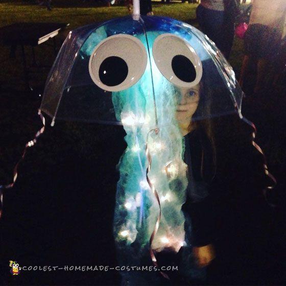 Easy Light Up Child's Jellyfish Costume