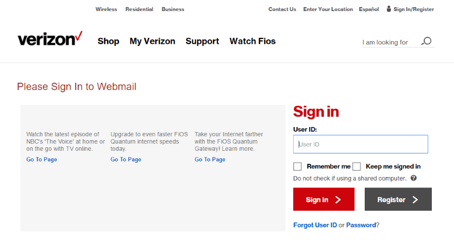 If you\'re a Verizon customer, you can set up your Verizon webmail ...