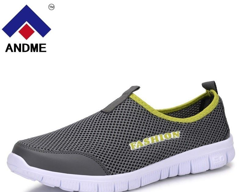 1d2c7112282ea Hot Offer New Men 2018 Summer Shoes Sneakers Mesh Breathable Upstream Shoes  Breathable Slip-on