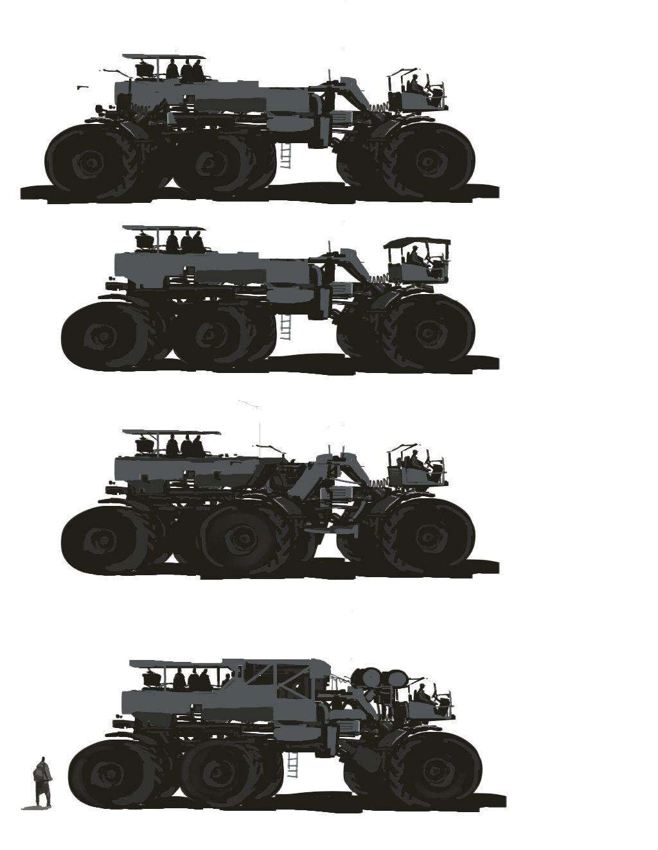 truck ideas, paul mccormack on ArtStation at https://www.artstation.com/artwork/truck-ideas