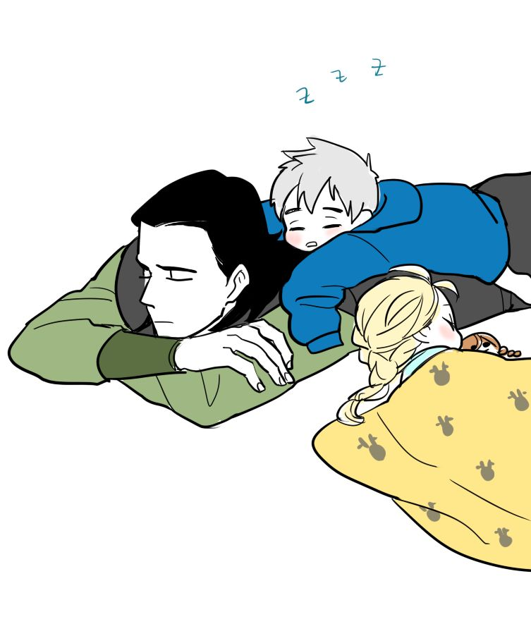 Once again, FORGET ELSA LOOK AT JACK AND LOKI!!