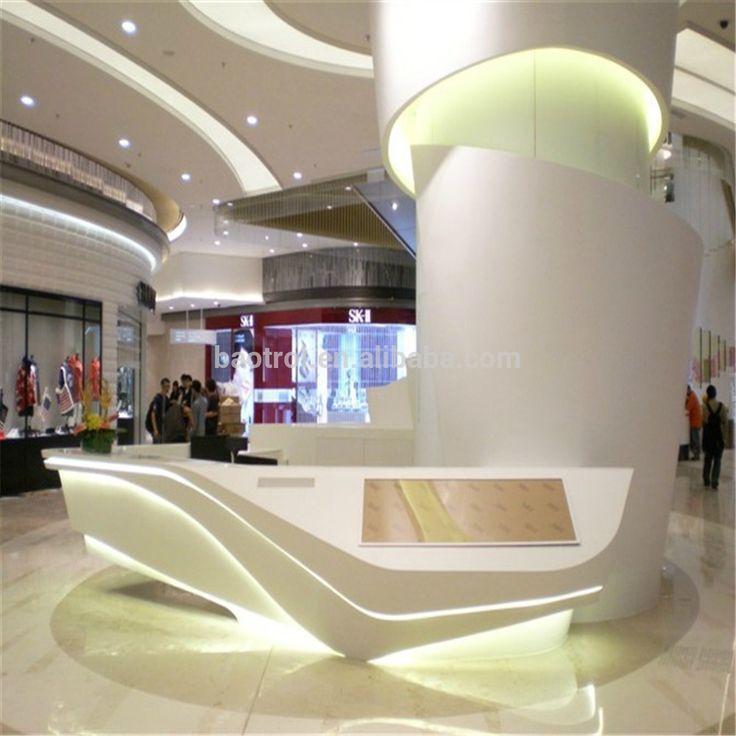 「organic Shape Concierge Counter」の画像検索結果 Modern Design