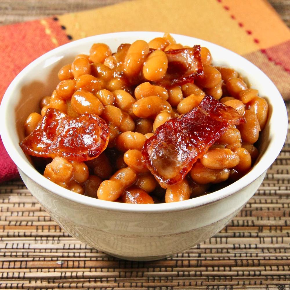 Baked Beans Ii Recipe Bean Recipes Baked Bean Recipes Side Dish Recipes