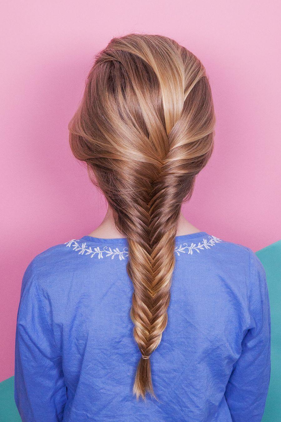 How To Fishtail Braid Braided Hairstyles Fish Tail Braid Braids For Short Hair