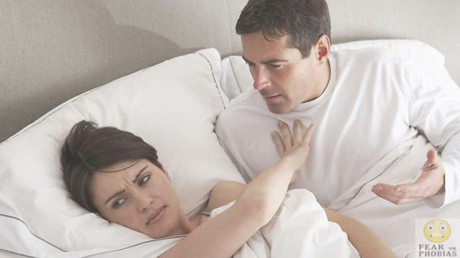 phobia of sexual intercourse