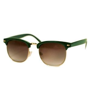 Unisex Eyewear Kevin Green Gold, 22€, now featured on Fab.