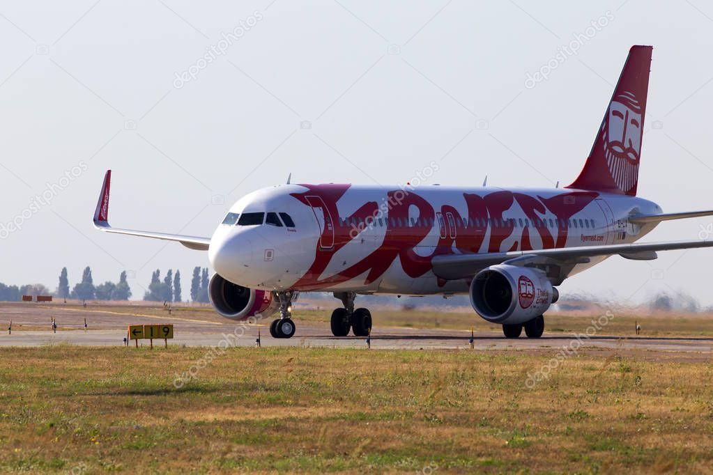 Borispol Ukraine September 2019 Lix Ernest Airbus A320 200