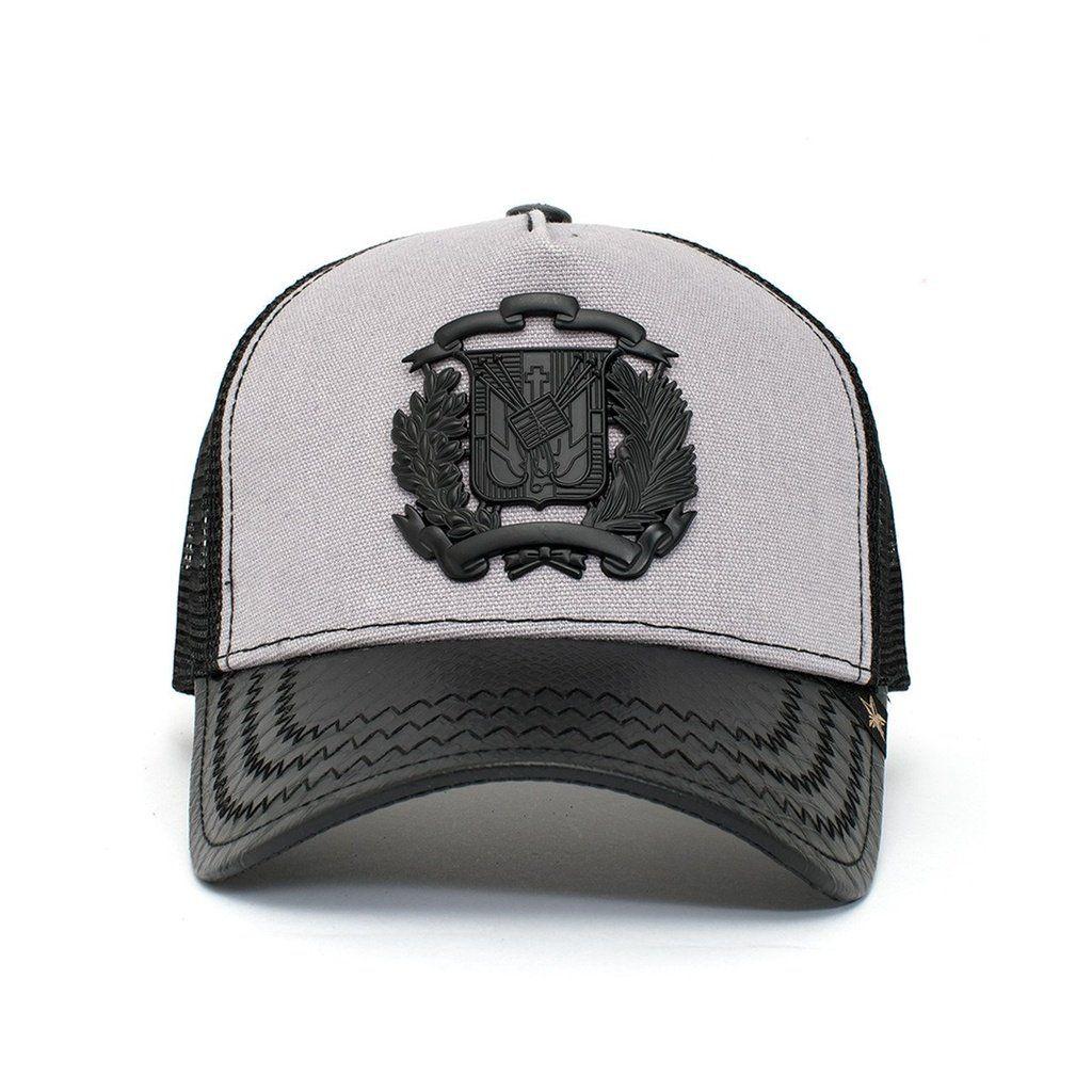 Trucker Hat - Dr Shield Black Grey  f926d334b061