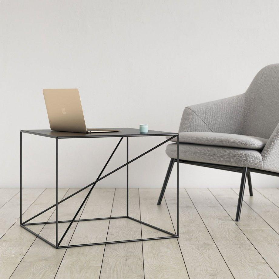 industrielle beistell tv m bel design beistelltisch. Black Bedroom Furniture Sets. Home Design Ideas
