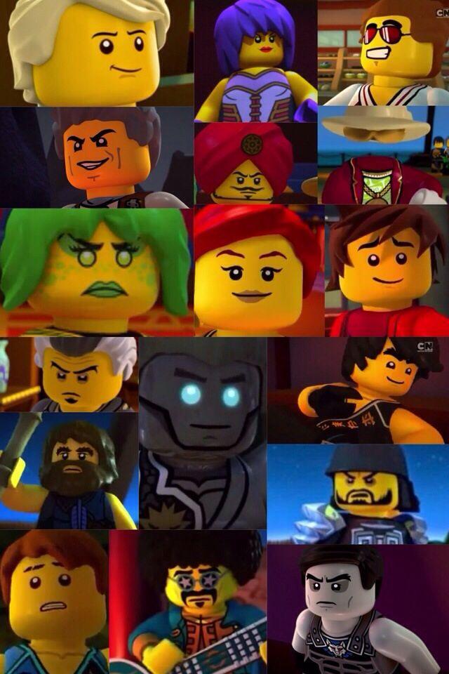 lego ninjago season 4 elemental masters