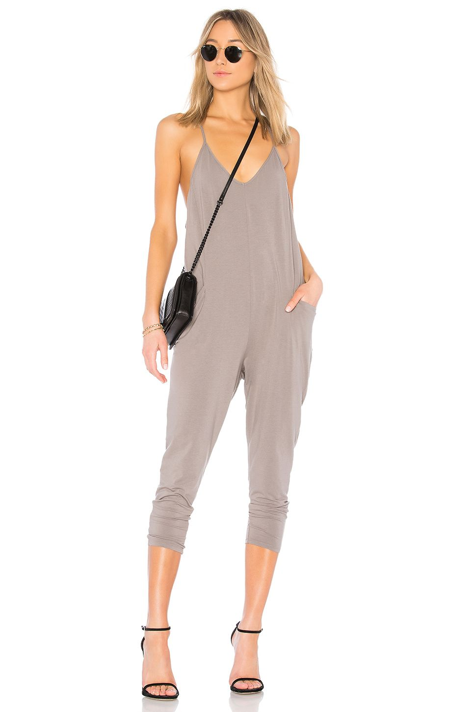 74abd6701cf4 BOBI JERSEY DRAPED JUMPSUIT.  bobi  cloth