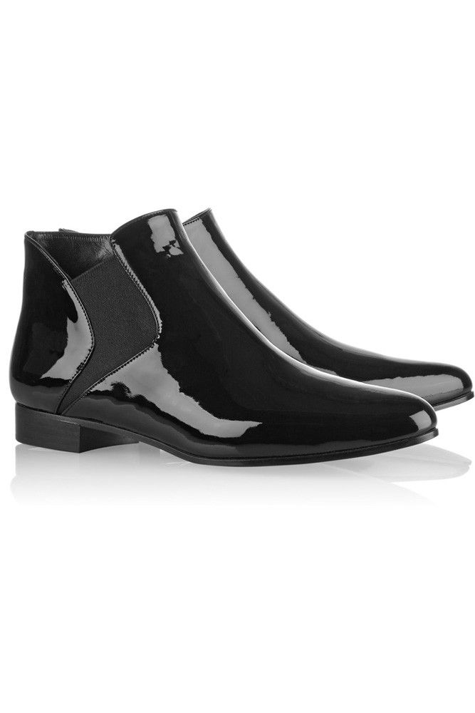 81784ba6086d Dr. Martens 1460 Patent 1460 W-W - Botas fashion de charol para ...
