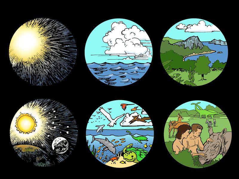 Days Of Creation 7 Days Of Creation Genesis Creation