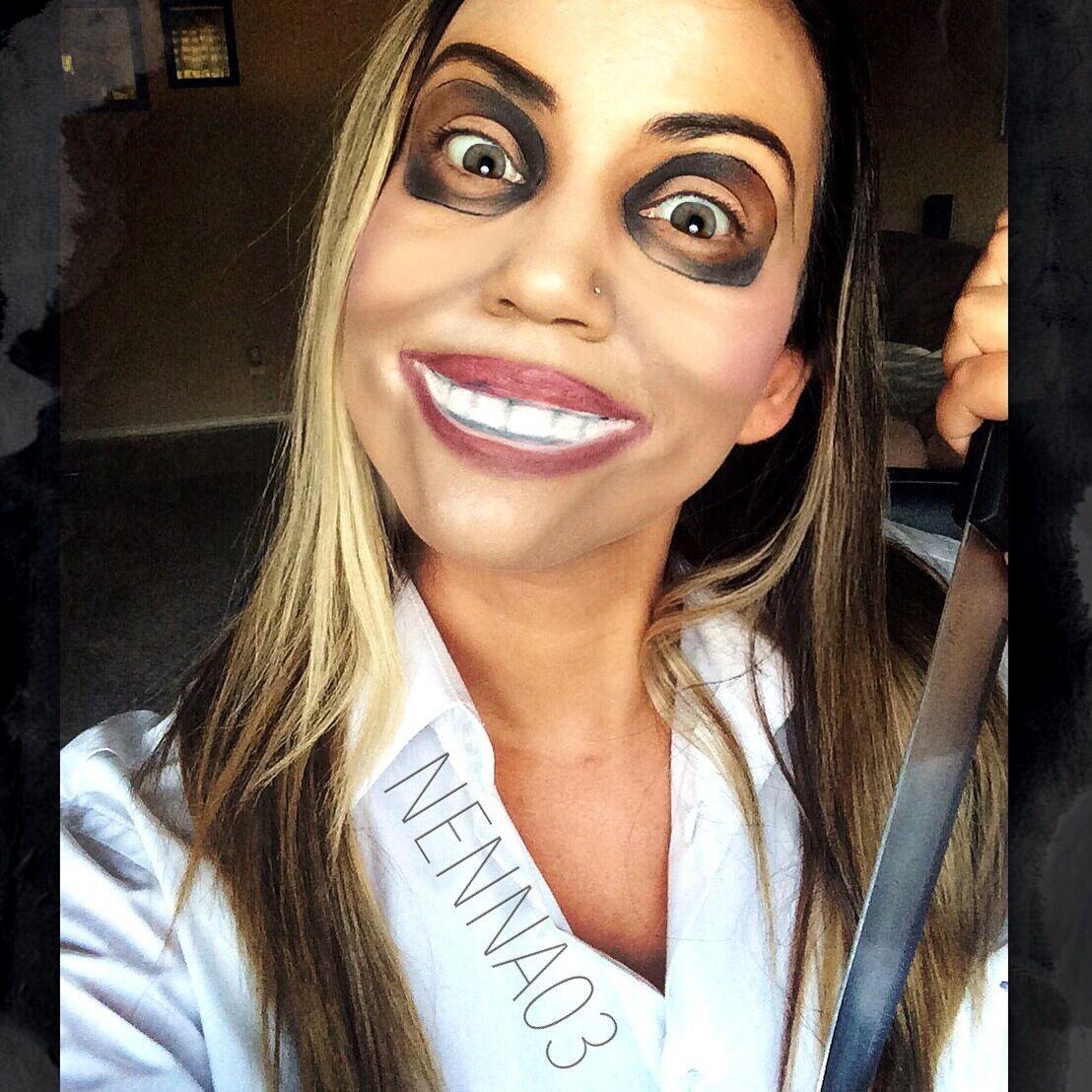 The Purge Makeup Halloween Makeup. Halloween DIY. DIY Makeup. Halloween Looks. Mask Look ...