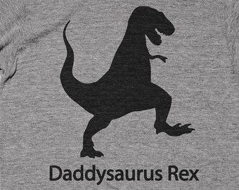 Daddysaurus Rex Shirt Baby Shower Gift Idea Papa Father Papi Dada Daddy Papasaurus Dinosaur T-rex Trex Shirt Funny Tee Tshirt T-shirt