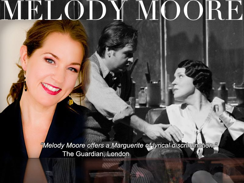 Joining the cast of Don Giovanni is soprano Melody Moore, who will be singing the role of Elvira. Don Giovanni opens April 28, 2012.