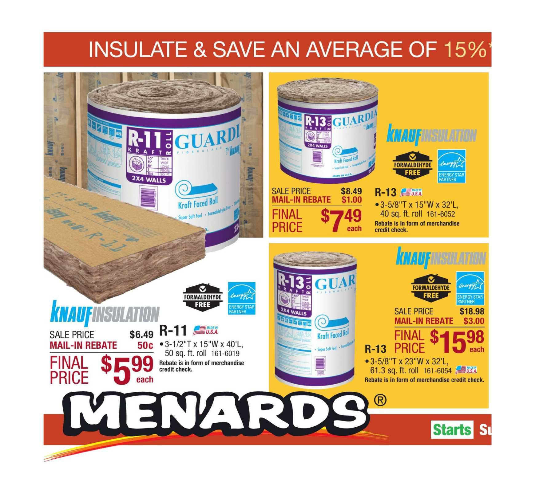 Menards Weekly Ad Flyer January 20 26 2019