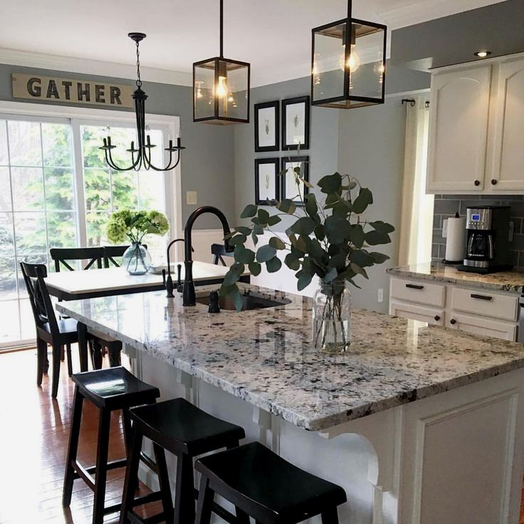 Love a Farmhouse kitchen but on a tight budget See these Top 10 Farmhouse Kitchens makeovers on a budget Painted cabinets farmhouse sinks and more