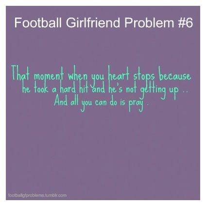Oh My Gosh YES ! Every Time ! | Football girlfriend ...