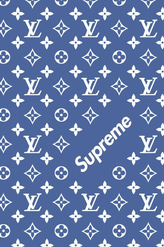 Supreme x Louis Vuitton Monogram wallpaper, Supreme