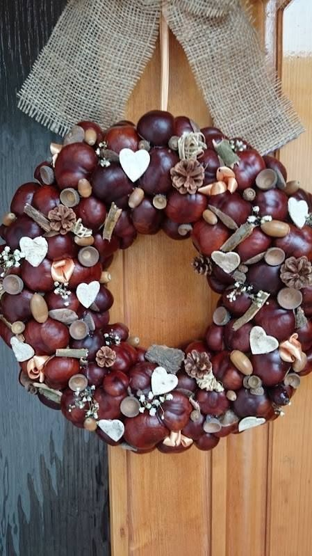 """Photo of 15 """"Do it yourself"""" ideas for autumn decorations. Good reasons why chestnuts are worth collecting."""