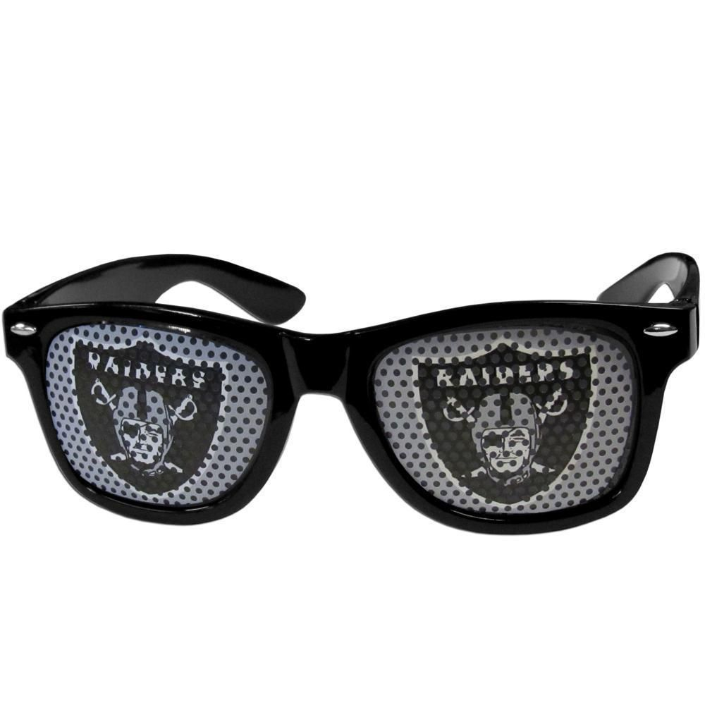 White NFL Oakland Raiders Game Day Shades
