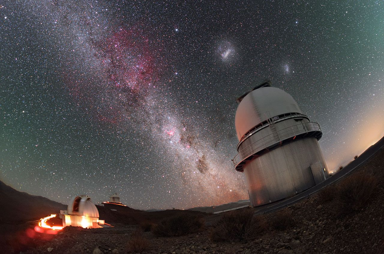 What would the Milky Way look like from the Large