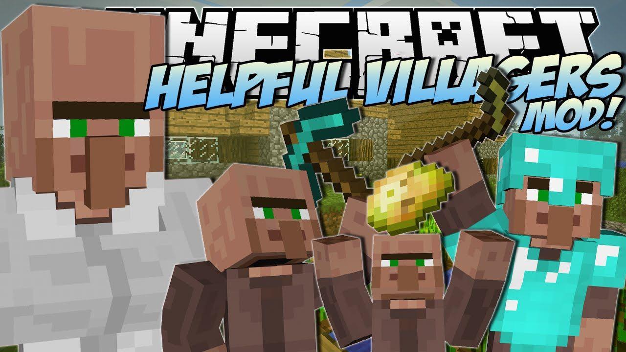 Minecraft Helpful Villagers Mod Create A Villager Army Mod Showcase All Minecraft Dumb Ways Minecraft