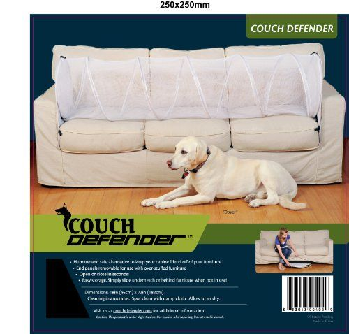 Couch Defender Keep Pets Off Of Your Furniture Black Click
