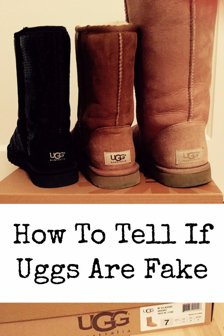 36c72ef5851 Difference Between the Original and Fake UGG Boots | THE EDIT ...