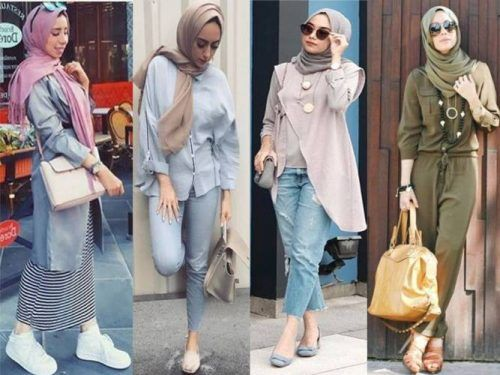 Hijab Fashion Outfits 2018