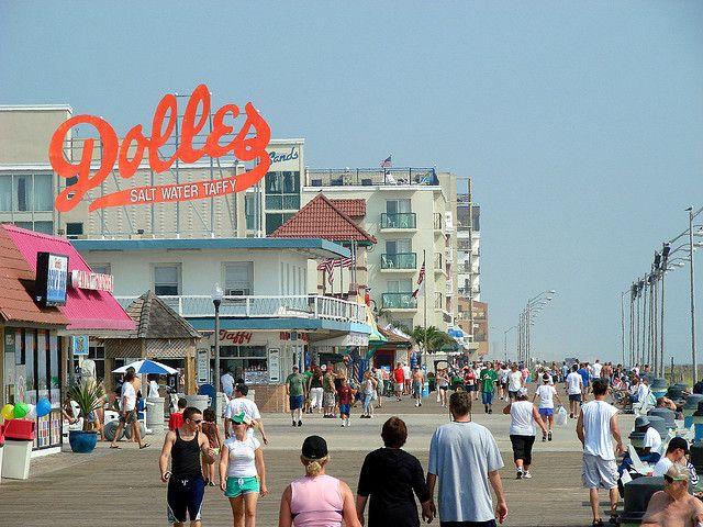 Dewey Beach Boardwalk Photo