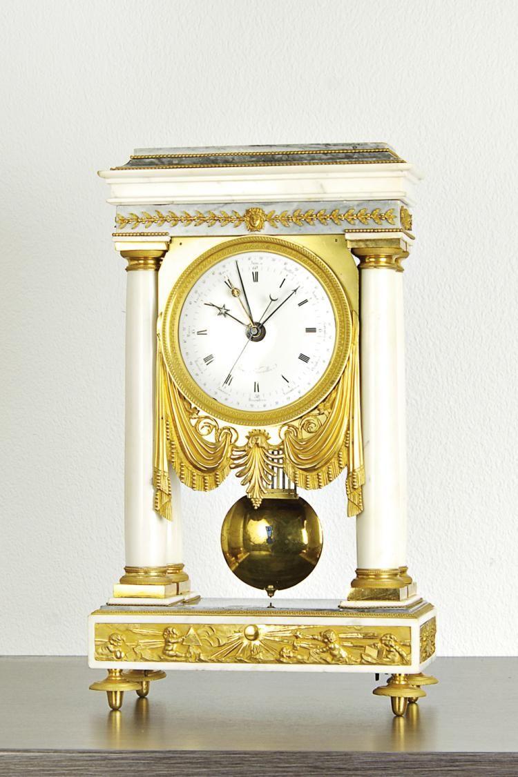 Thome A Versailles 550 X 320 X 160 Mm Circa 1795 Retro Clock