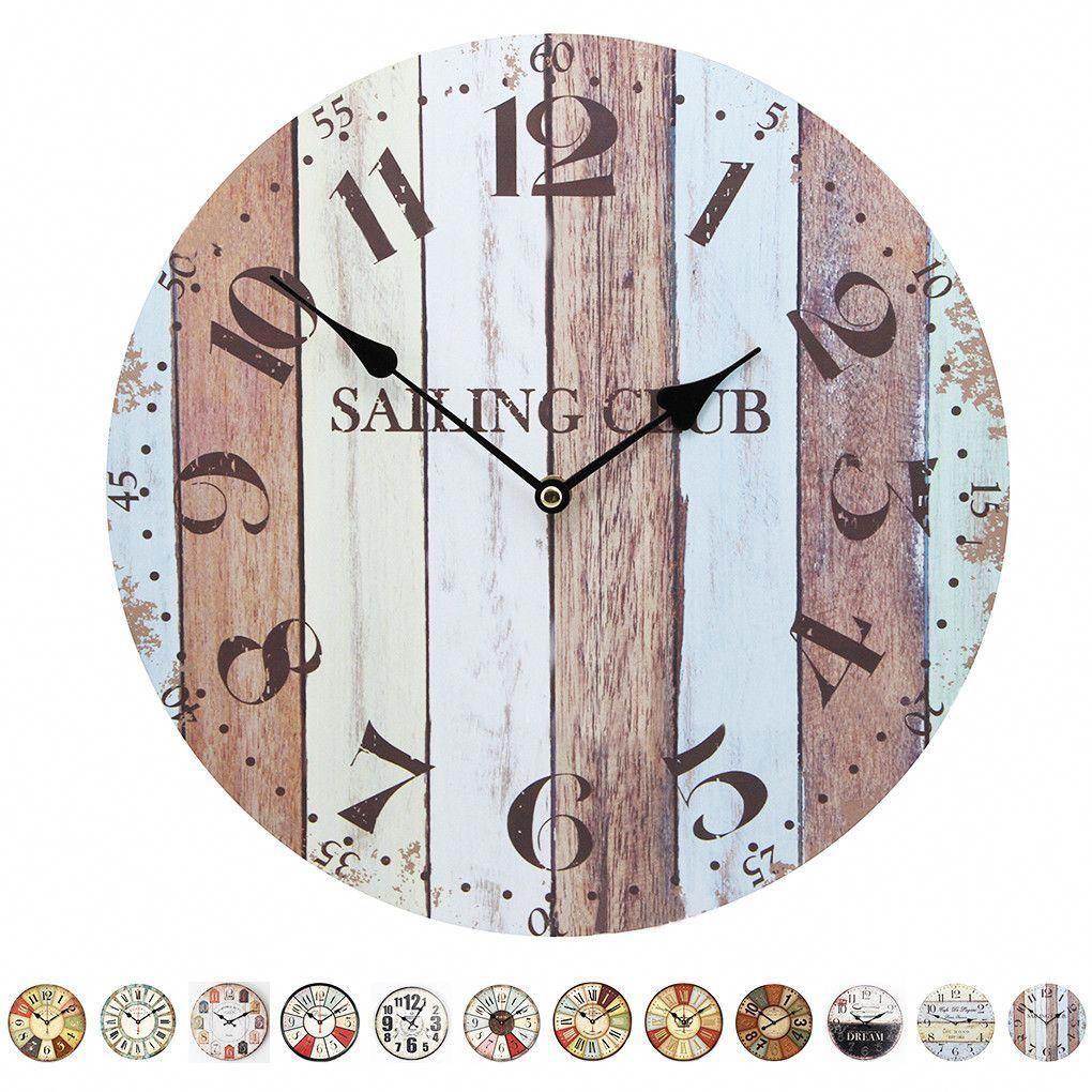 Costco Batteries Aa Wood Wall Clock Wall Clock Clock