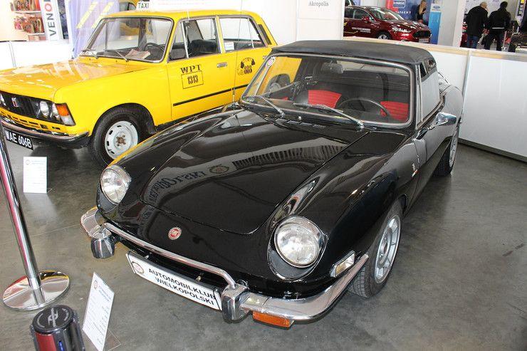 Fiat 85 Lat Licencji Wystawa W Poznaniu Fiat 850 Spider Z 1966 R