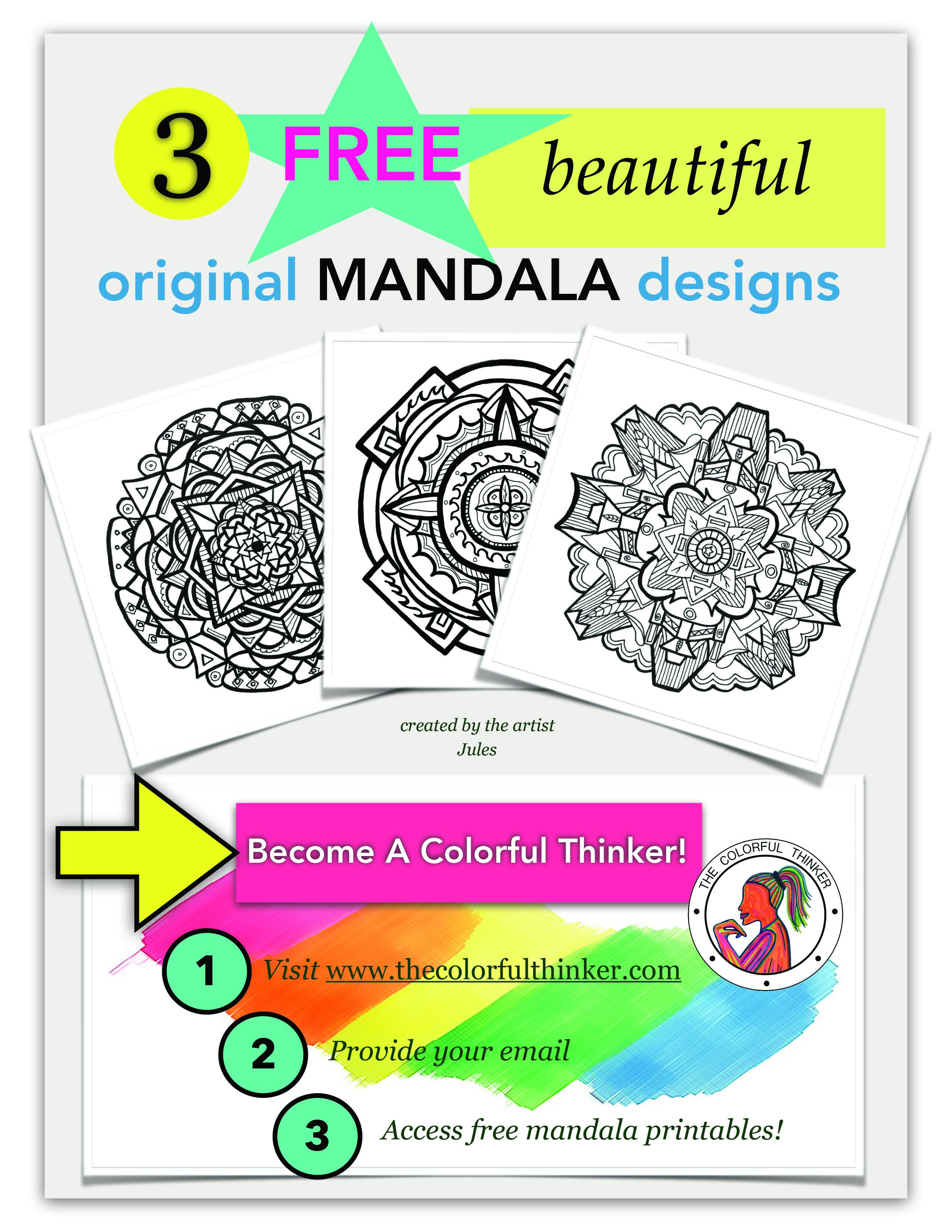 3 Free Mandala Printables Mandala Mandala Design How To Draw Hands [ 3300 x 2550 Pixel ]
