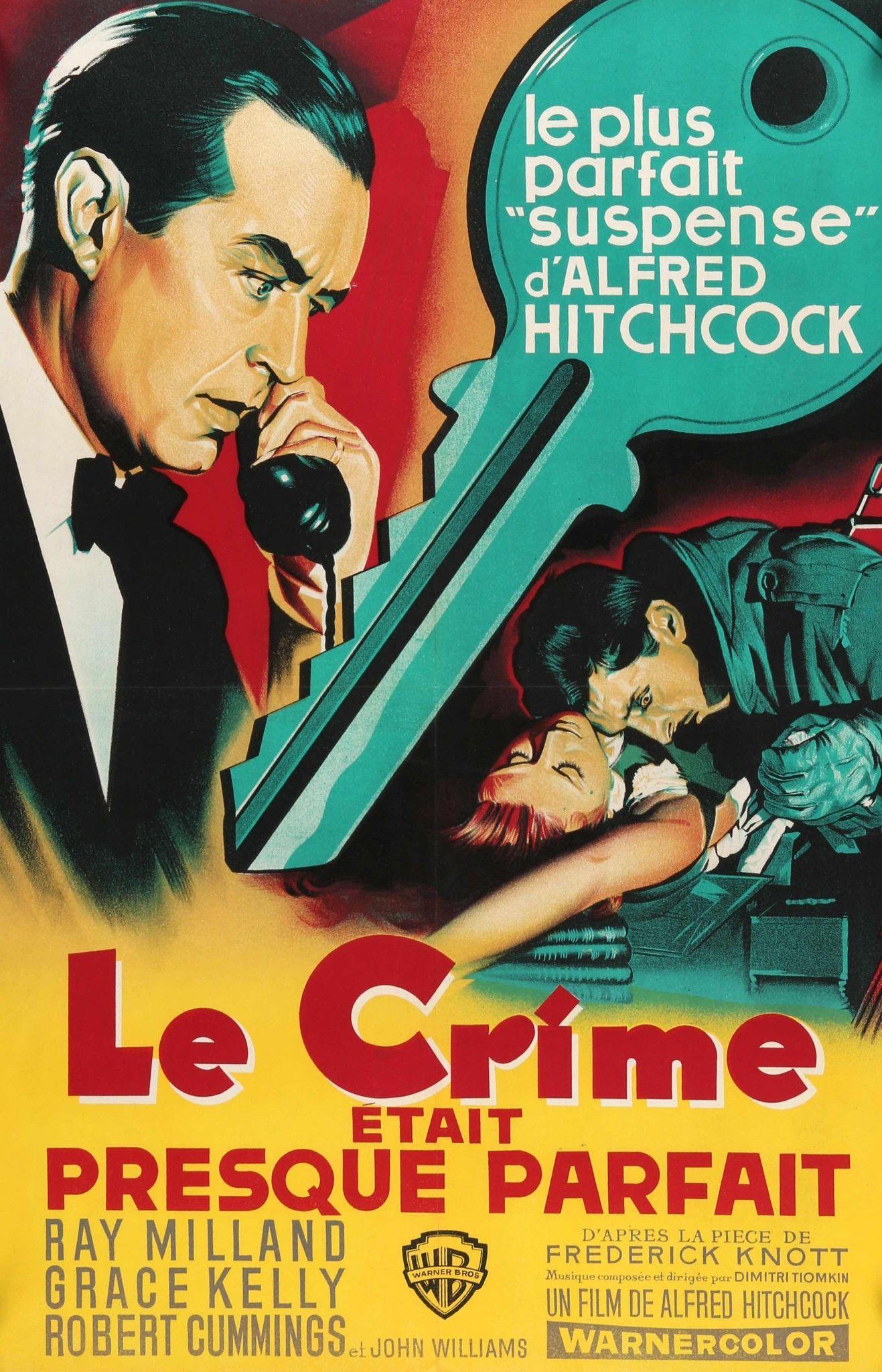 Psycho Hitchcock vintage movie poster print #2