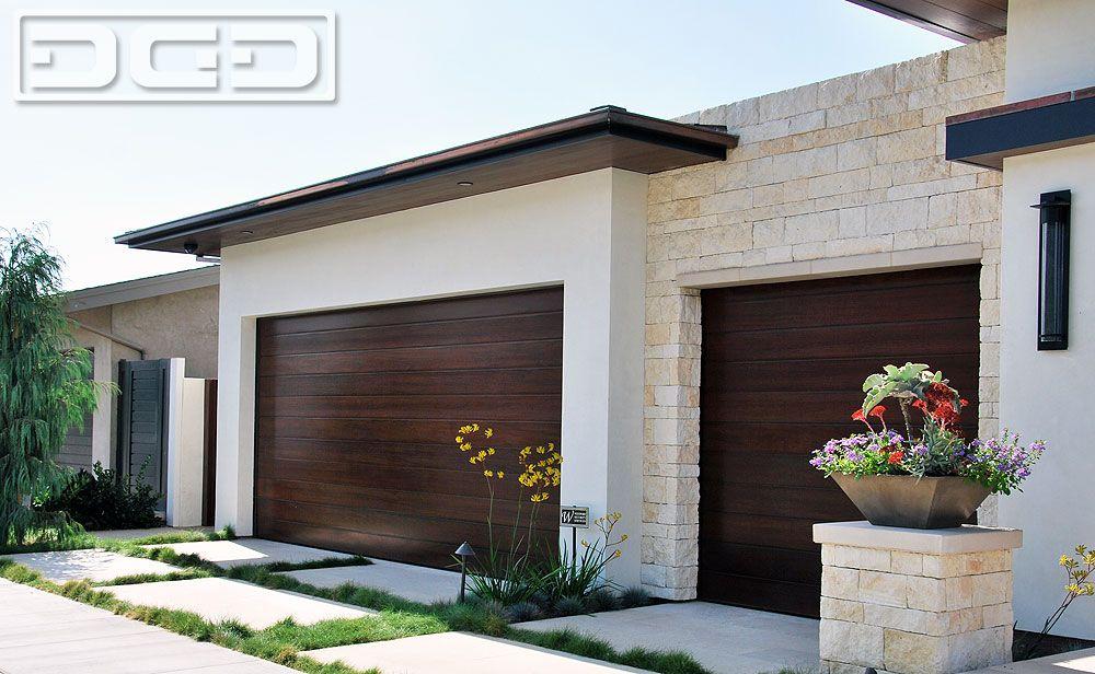 Love This Colour And Finish Combo For Exterior Garage Door Design Modern Garage Garage Doors