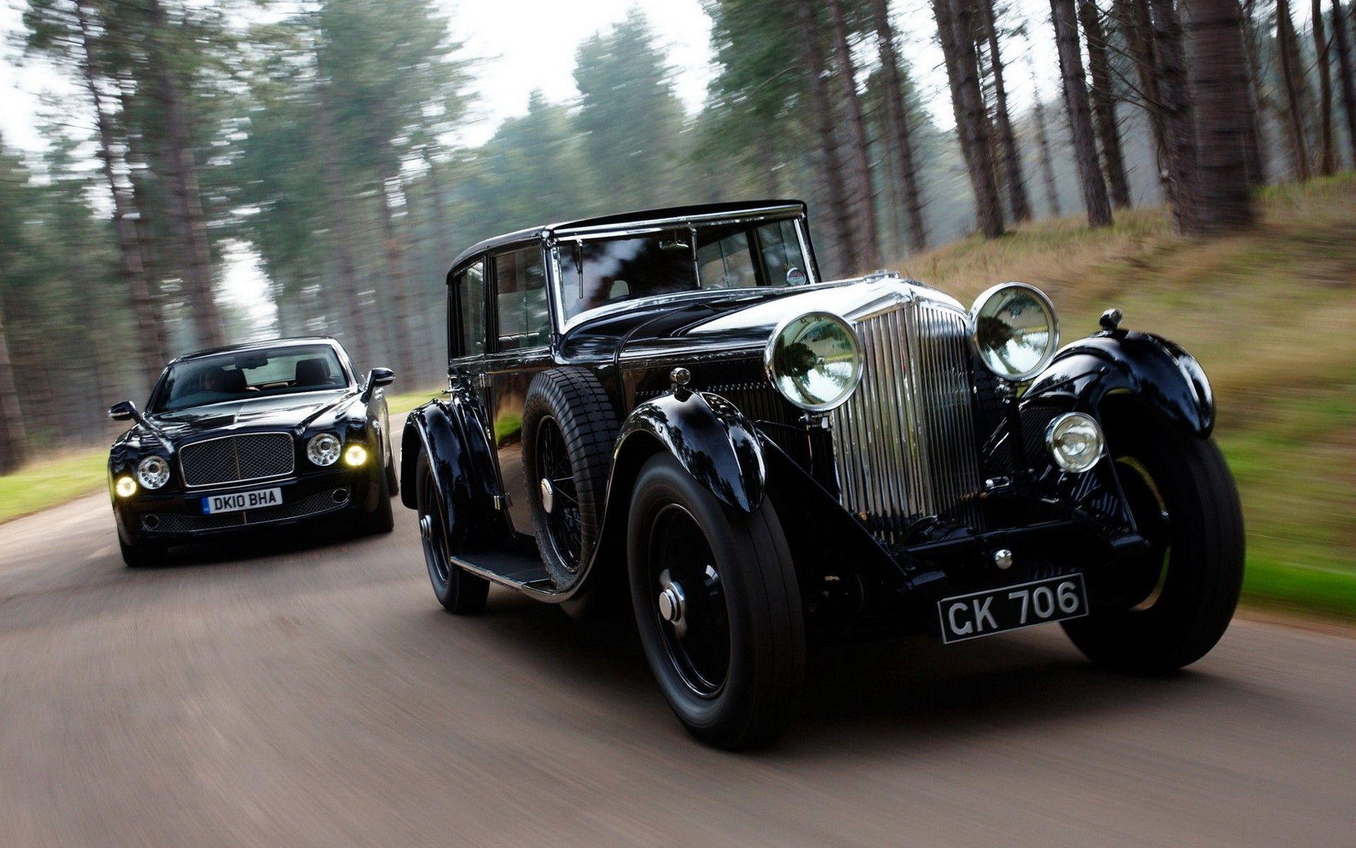 Old Bentley And New Bentley With Images Super Cars Cars Bentley
