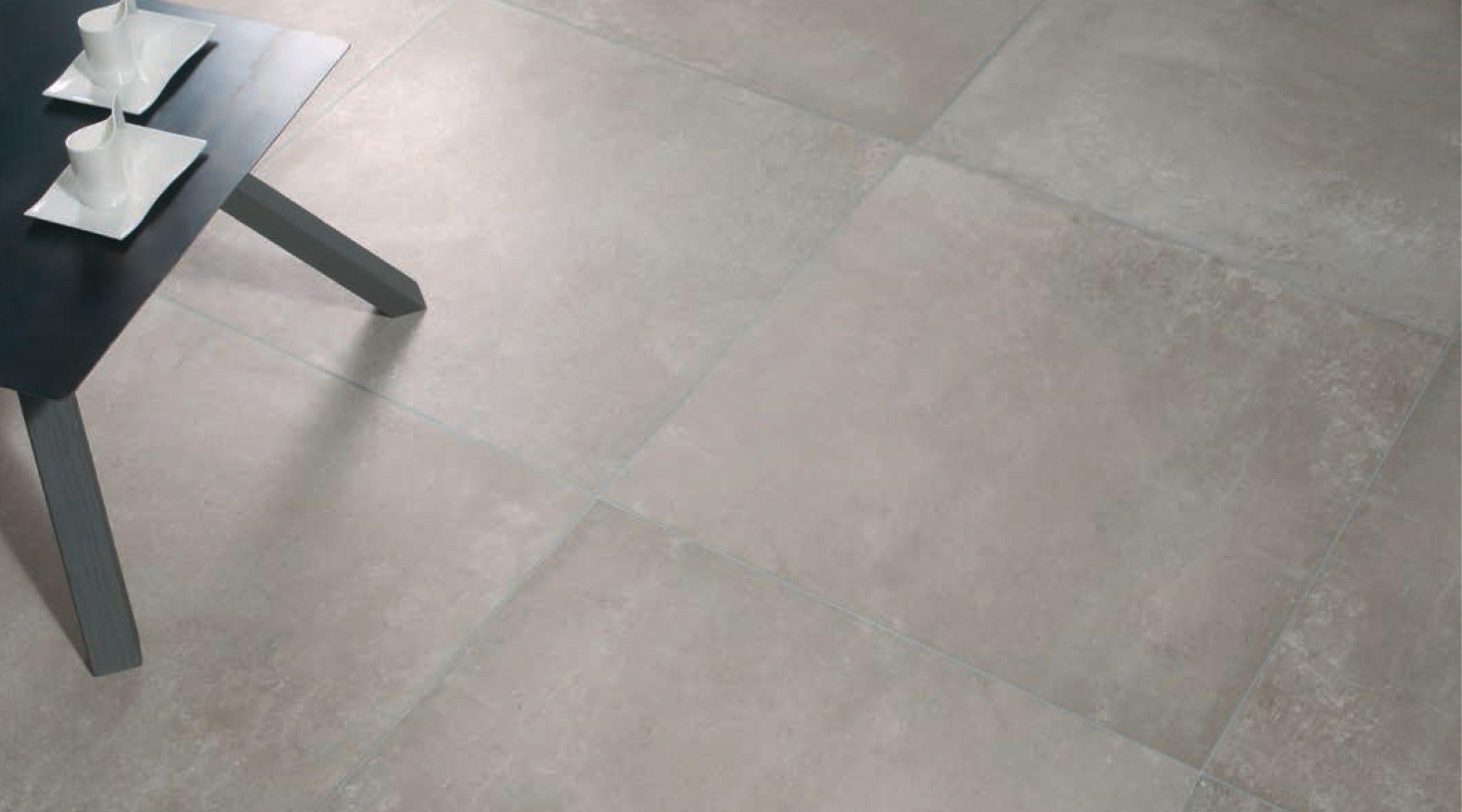 [ Younhyun Tile / 윤현상재 타일 ] Exposed Concrete Style Tile : Urban Concrete Fog / Size (cm) : 600X600