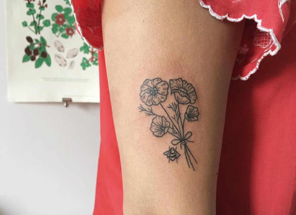 Flower Tattoo, Geometric Tattoo, Tattoos