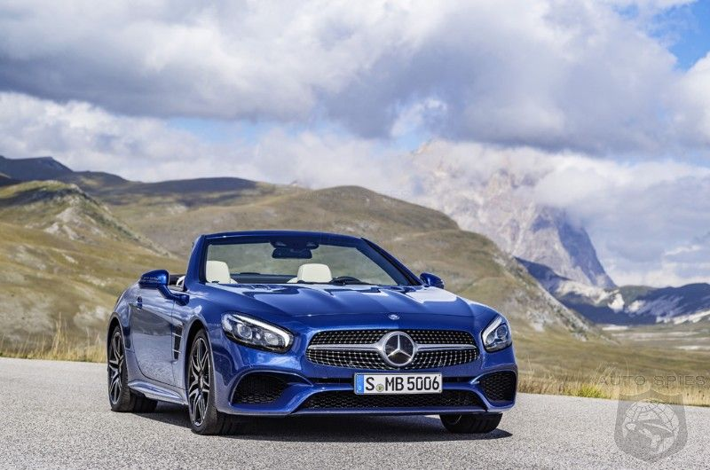 LAAS2015 STUD or DUD — The REFRESHED 2017 Mercedes Benz SL Class