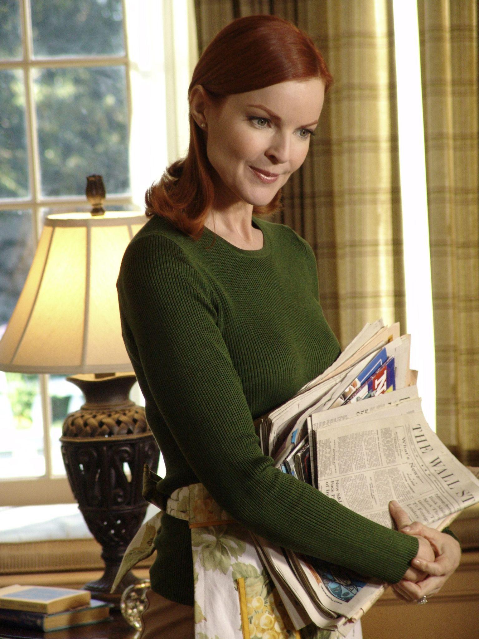 Marcia Cross as Bree Van De Kamp in the Desperate Housewives