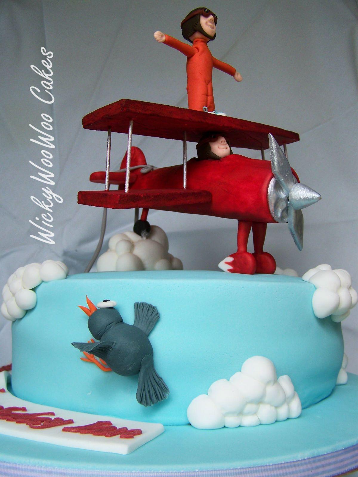 Wing Walker Cake ladies girls boys mens birthday cake